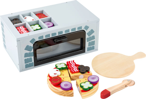 Pizza Oven for Play Kitchens with 25 pieces