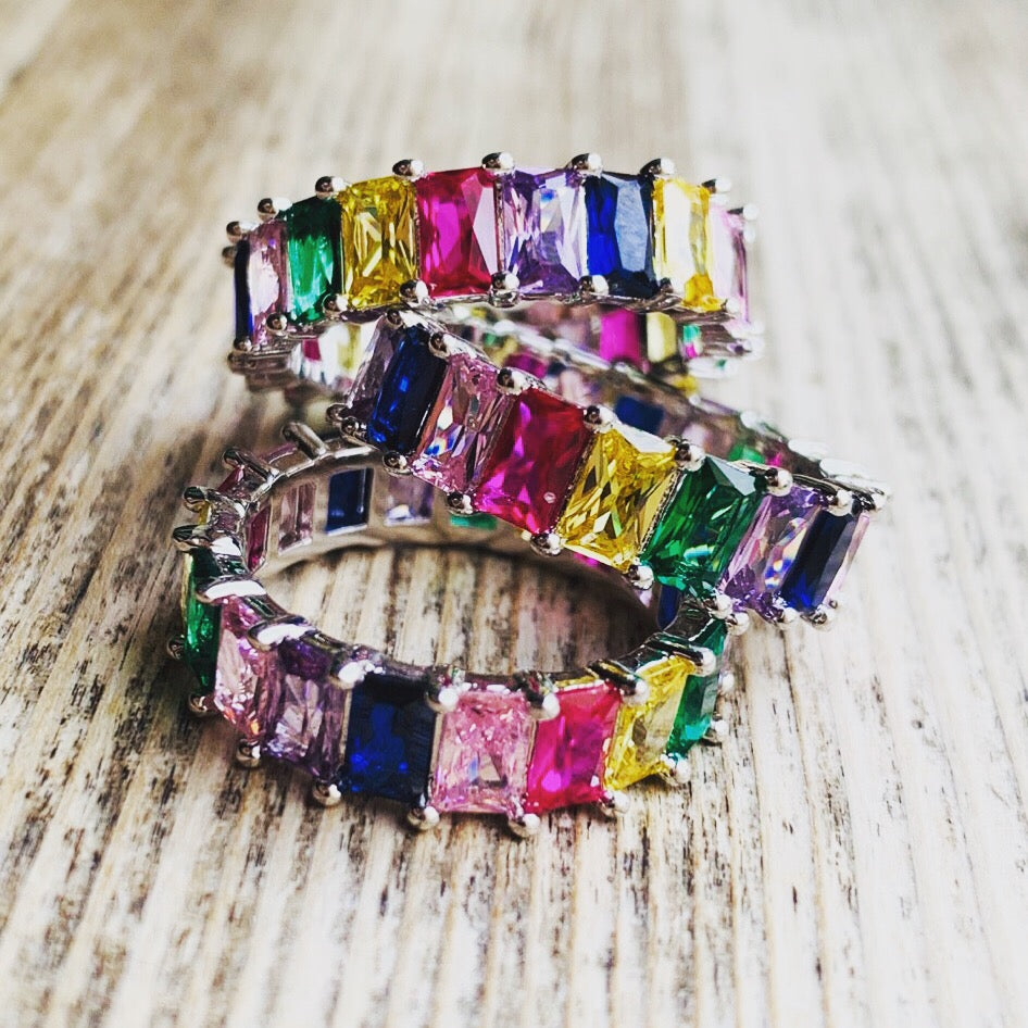 Jeweled Stacking Ring