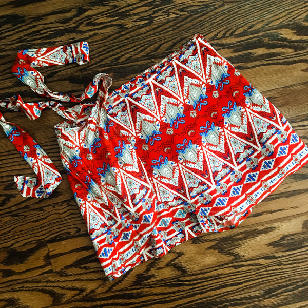 Tie Front Summer Shorts