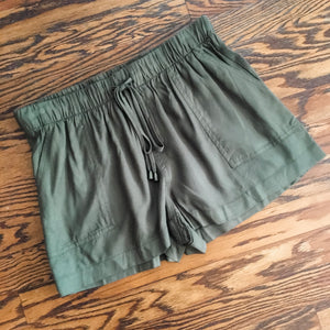 Just Beachy Shorts Olive