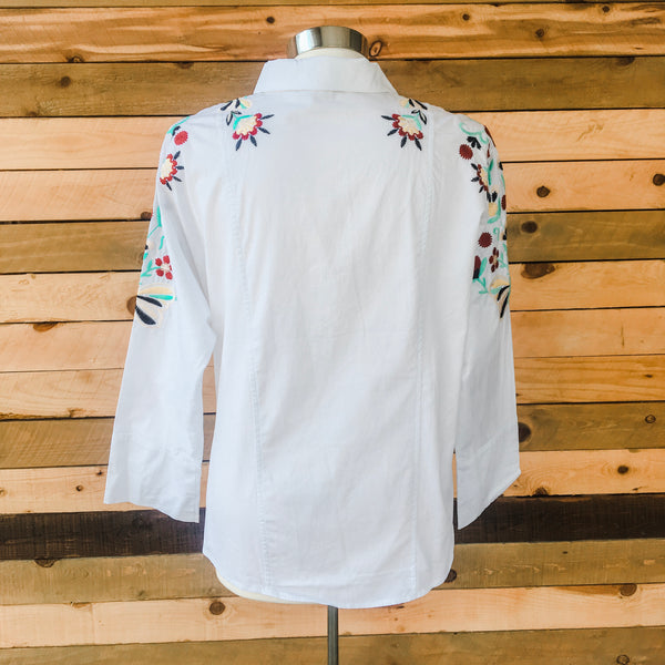 The Flora Button Down