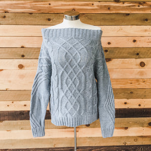 The Tabitha Cable Knit Sweater