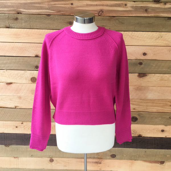 Pink is the New Black Sweater