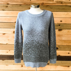 Metallic Ombre Sweater