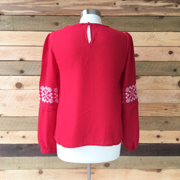 The Ruby Top in Reddest Red