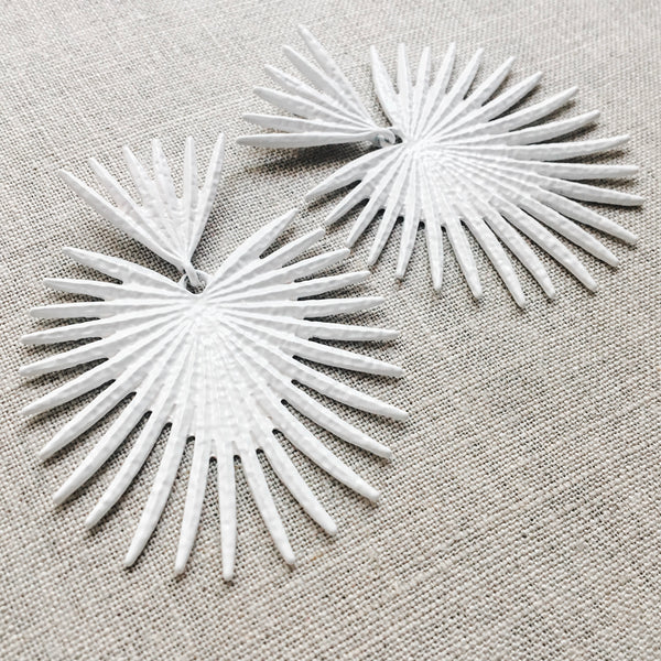 Spiked Love Drop Earrings