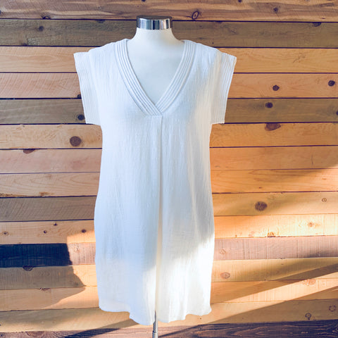 The Lucy Dress White