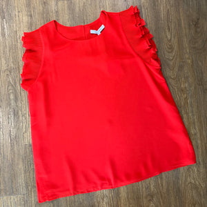The Sophie Top Red
