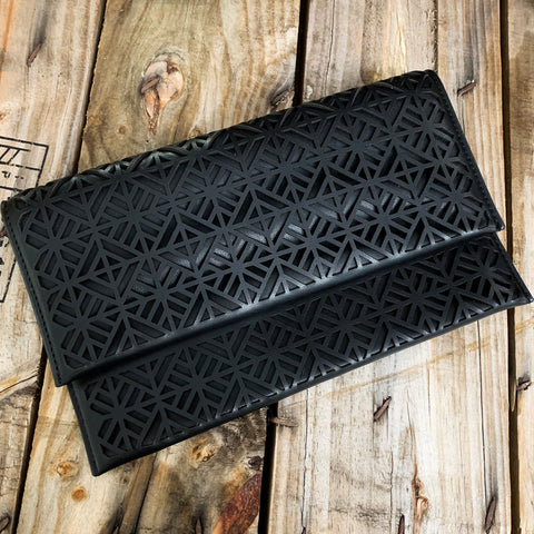Black Tile Clutch