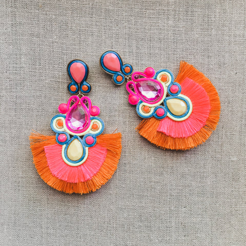 Cha Cha Tassel Earrings