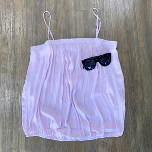 Pleated Summer Cami Orchid