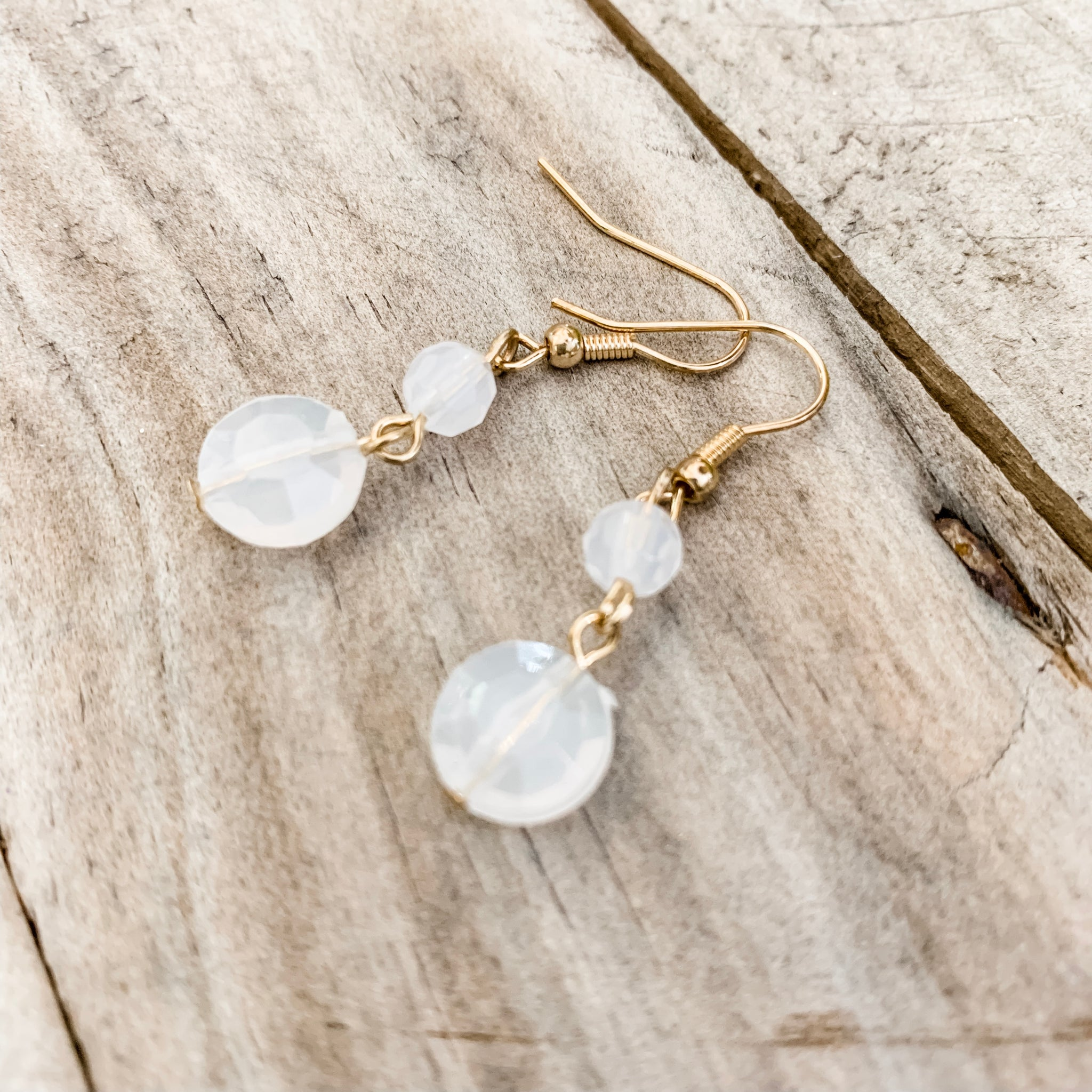 Mini Mist Drop Earrings