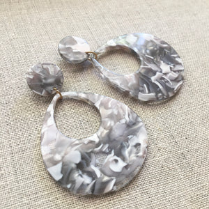 Stormy Drop Earrings