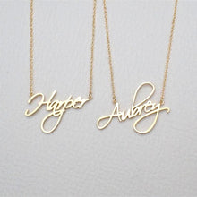 Load image into Gallery viewer, Your Name Necklace