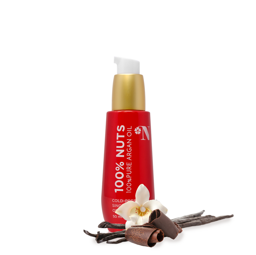 Pure Argan Oil with Dark Chocolate and Vanilla - beauty-nut