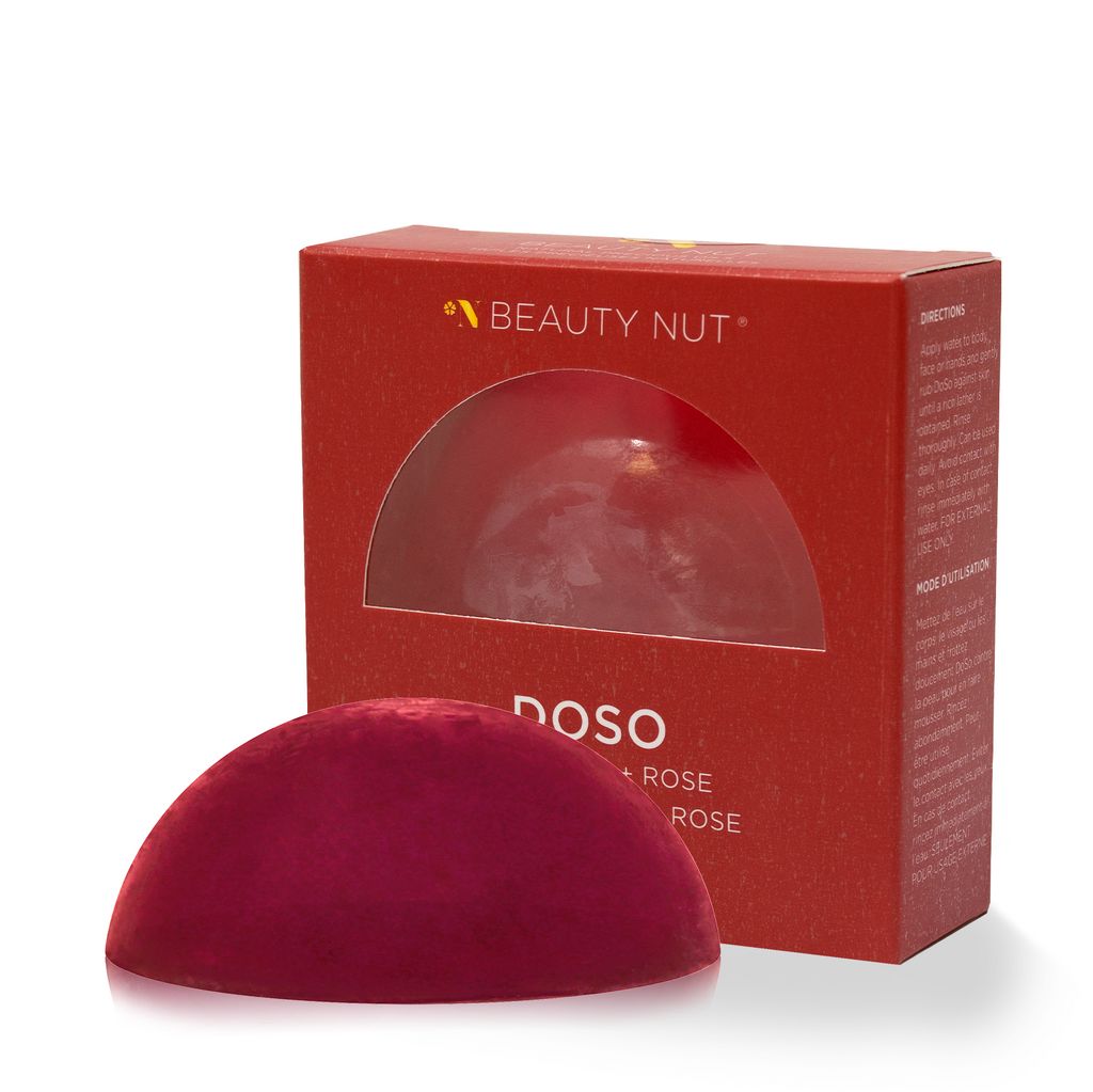 Rose Soap DOSO - beauty-nut