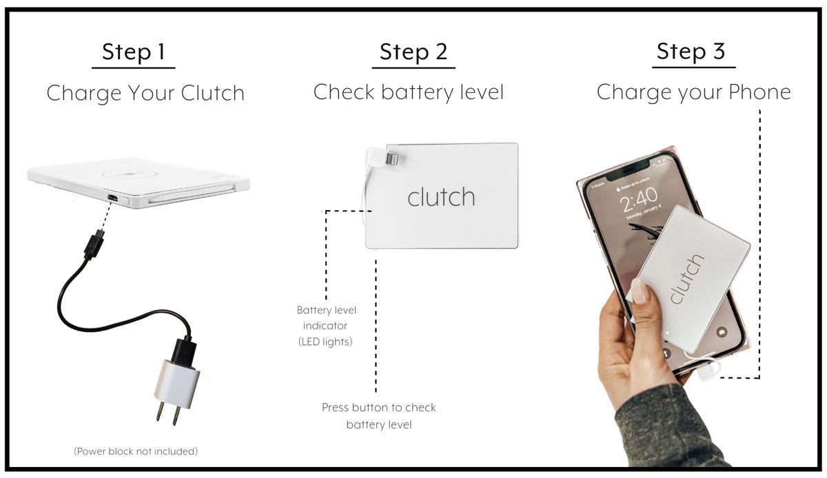 How to use your clutch charger