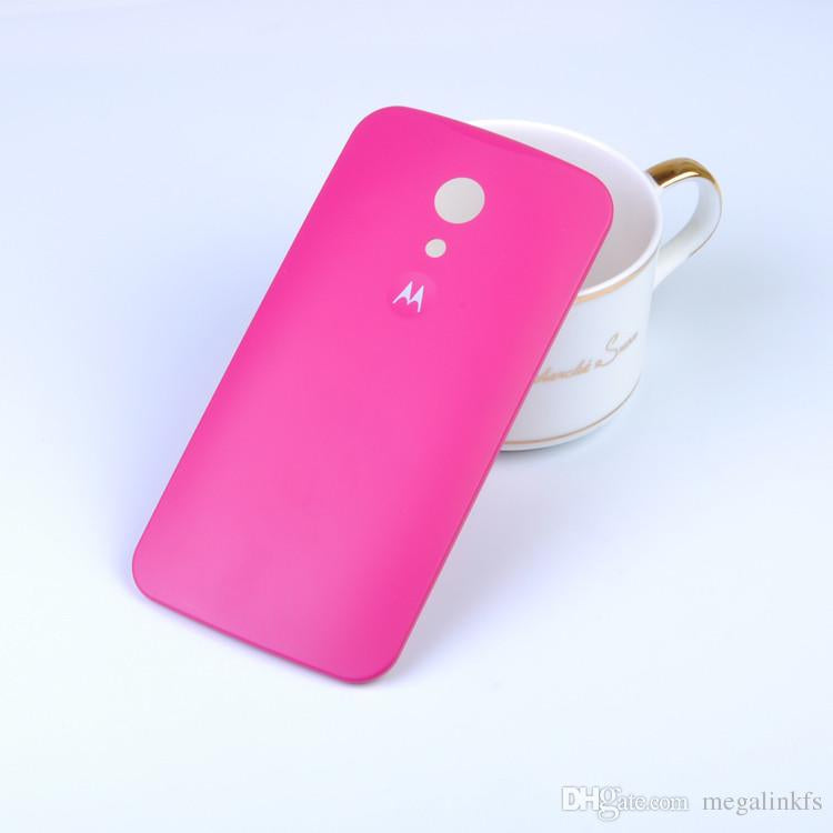 competitive price bd80b 4bb10 Replacement Back Door Hard Back Case Panel for Motorola Moto G2