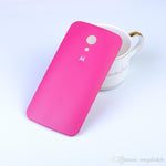 Replacement Back Door Hard Back Case Panel for Motorola Moto G2