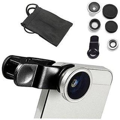 CellPhonez.in - 3-in-1 Universal Camera Lens Kit for Smartphones