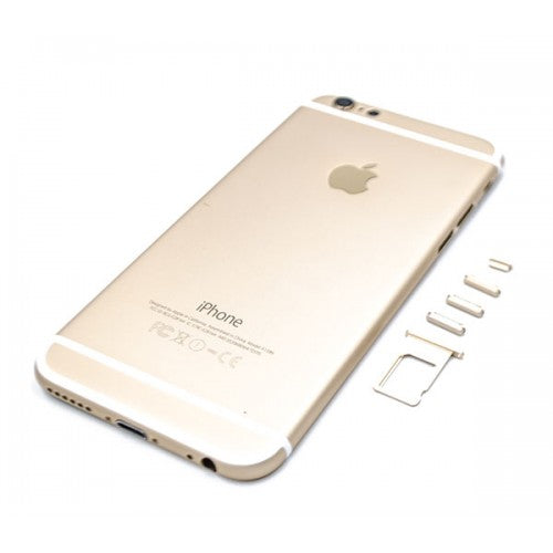 Back  Housing Metal Body Back Panel for iPhone 6