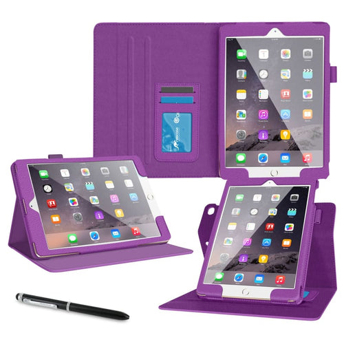 CellPhonez.in - 360° Rotator Flip Cover for IPad 2 / 3 / 4. Dark Pink