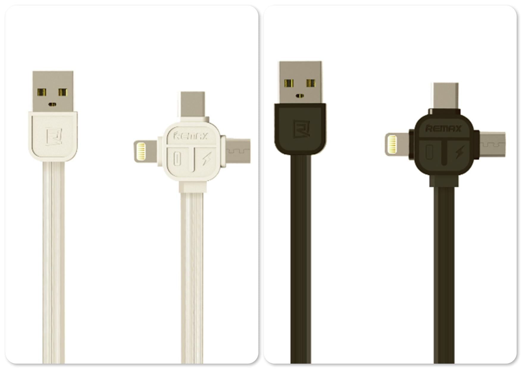 CellPhonez.in - Remax 3in1 Data cable