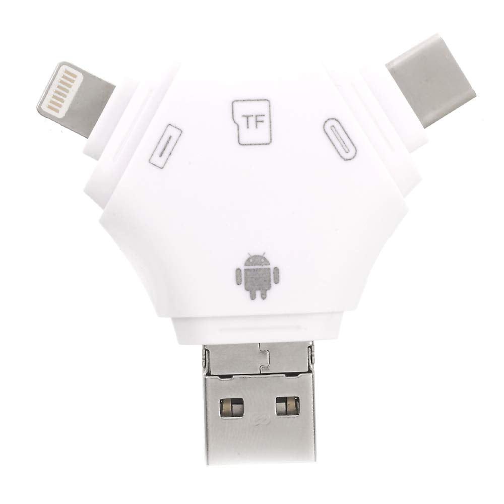 CellPhonez.in - 4 in 1 i-Flash Device Card Reader