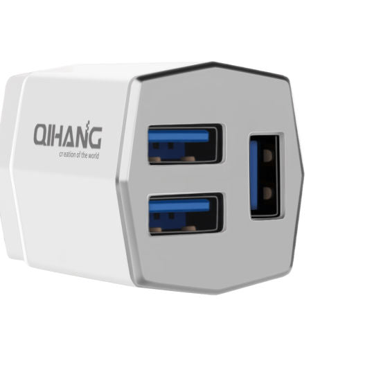 CellPhonez.in - QH 3 Port Travel Charger