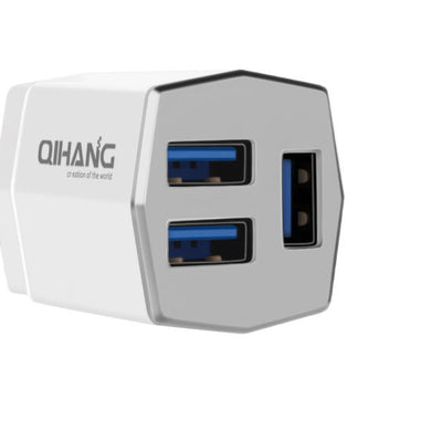 QH 3 Port Travel Charger
