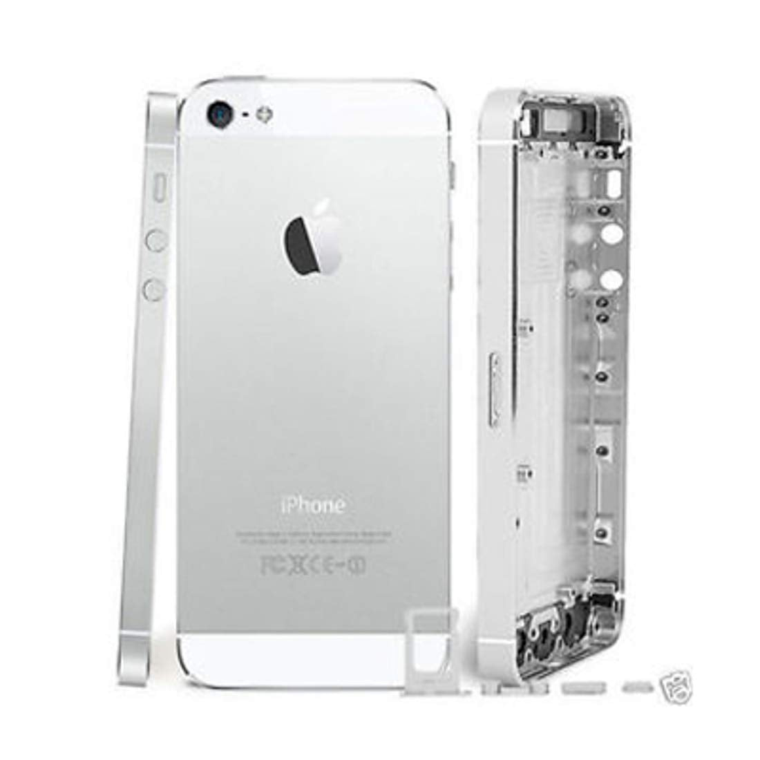 CellPhonez.in - Back  Housing Metal Body Back Panel for iPhone 5G