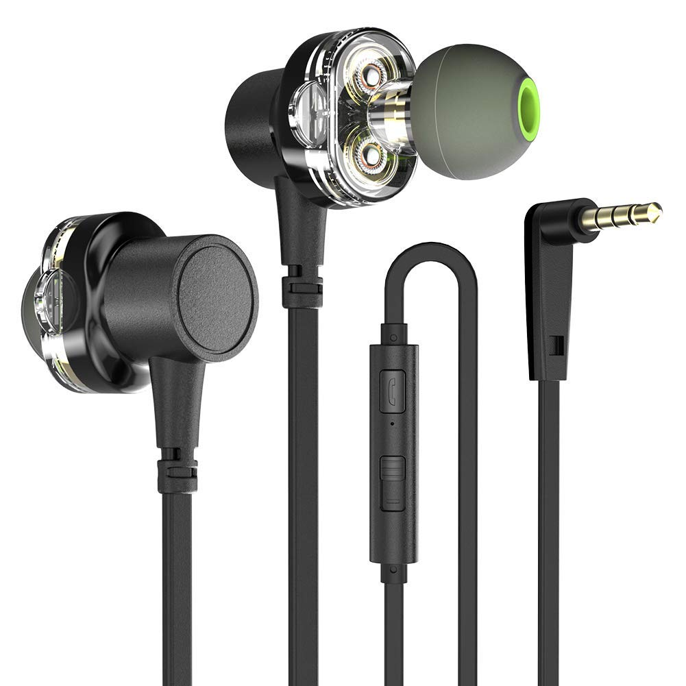 CellPhonez.in - Z1 Sports Earphone with Mic Dual Control Headset for Android/iOS Black