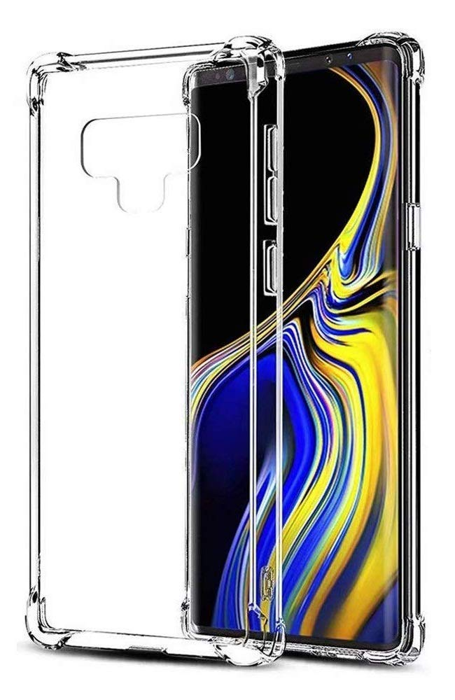 CellPhonez.in - Flexible Shockproof Corner Silicon Case for Samsung Galaxy Note 9