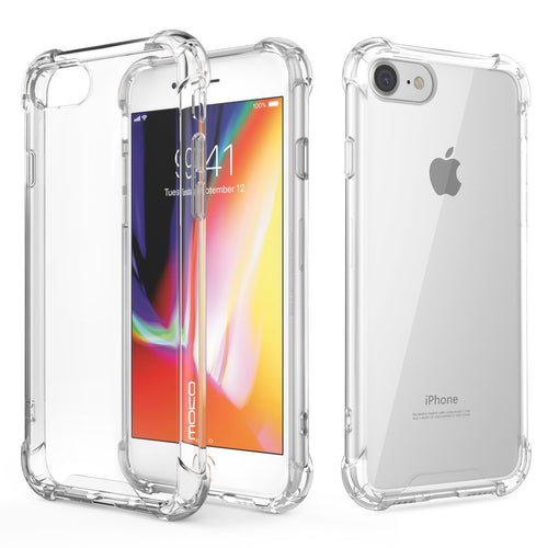 CellPhonez.in - Flexible Shockproof Corner Silicon Case for iPhone 7 Plus/ iPhone 8 Plus