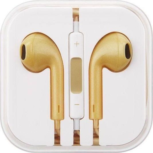 Original High Quality Earphone for Apple (Golden)