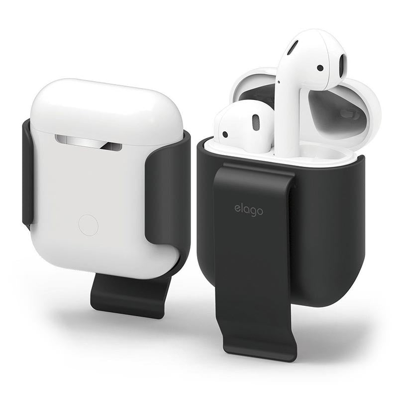 CellPhonez.in - AirPods Belt Clip Convenient Portability Protection Soft Feel Coating.
