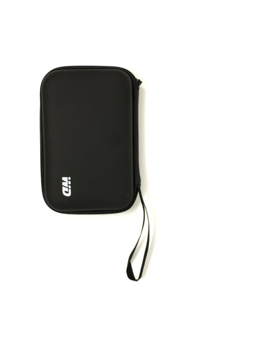 Hard Disk Carrying Case for Portable External USB Hard Drive, Black.