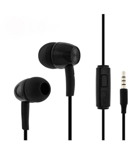 CellPhonez.in - LG Earphones With Mic Black