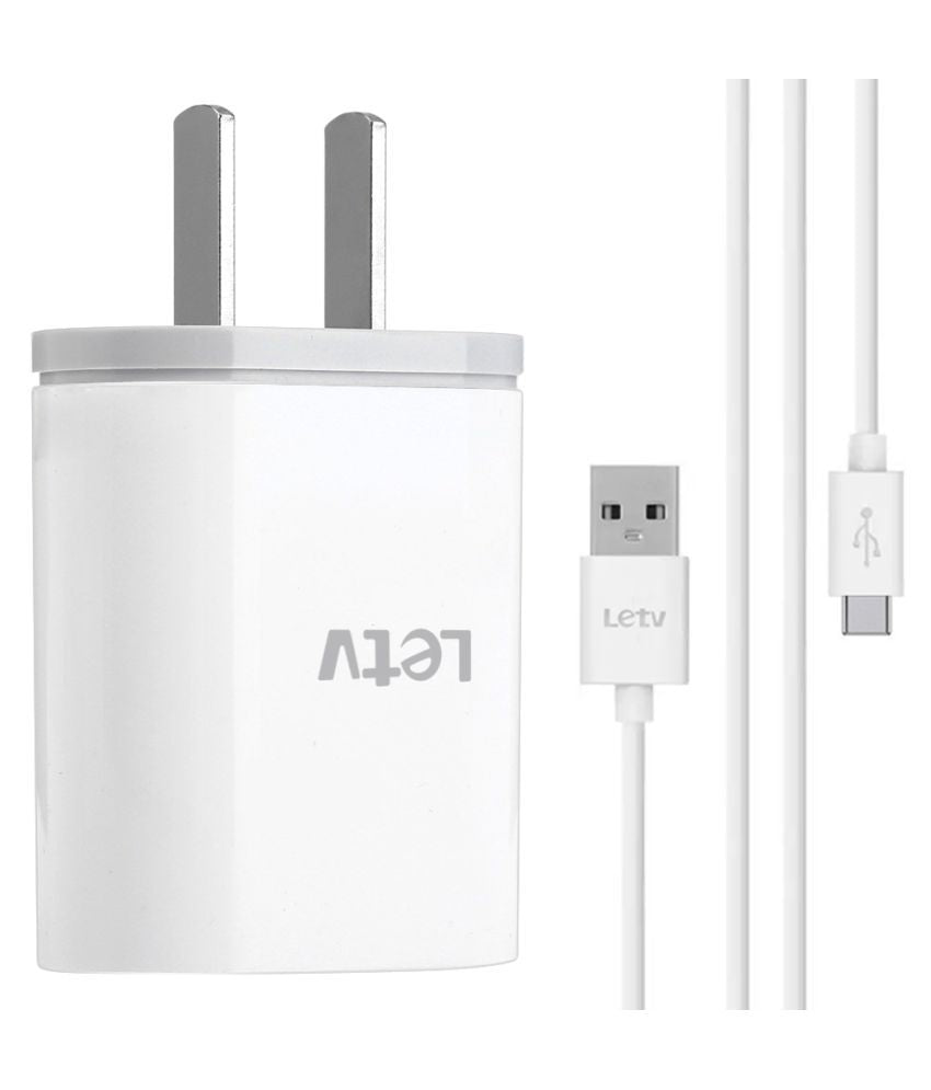 LeTV Mobile Charger With Type C Cable.