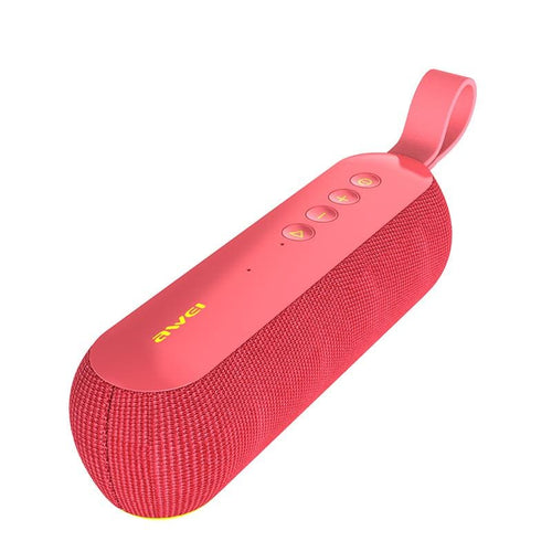CellPhonez.in - Awei Y230 Mini Portable Wireless Bluetooth Speaker Red