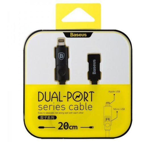 CellPhonez.in - Baseus Dual Port Data Cable.