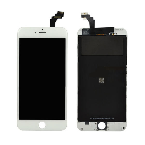Lcd  Digitizer Replacement For iPhone 6 Plus White