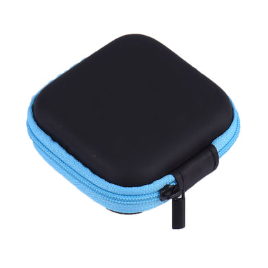 Multipurpose Earphone Pouch Blue