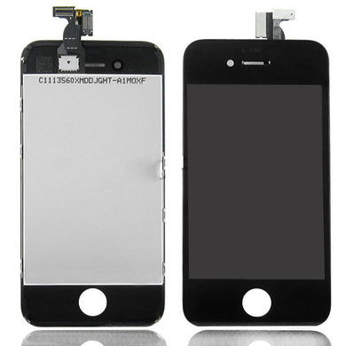 Lcd  Digitizer Replacement For iPhone 4S Black