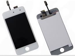 Lcd  Digitizer Replacement For iPod Touch 4 White