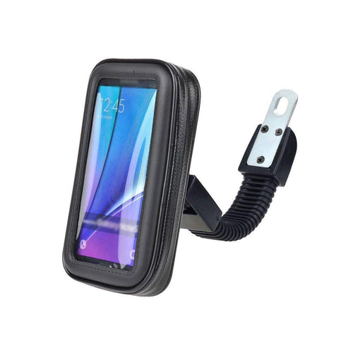 CellPhonez.in - Waterproof Mount Stand for Bike/Motorcycle Mobile Holder Zip Pouch Style