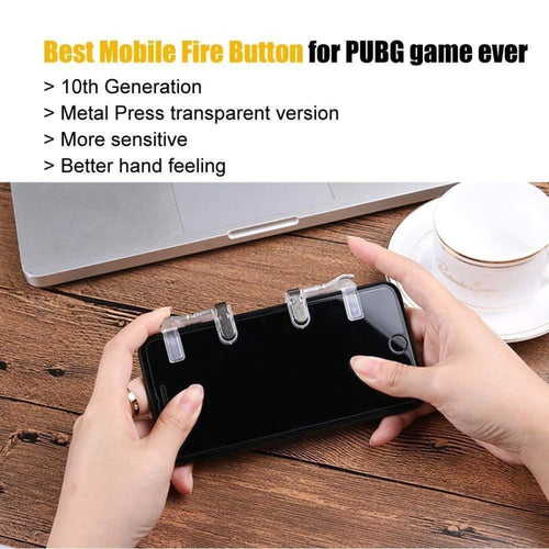 CellPhonez.in - PUBG Game Controller Metal Touch Button
