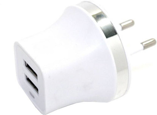 Dual USB Travel Charger Adapter