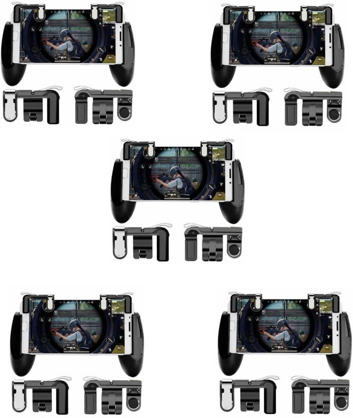 Gamepad With Pubg Mobile Trigger(Set of 5)
