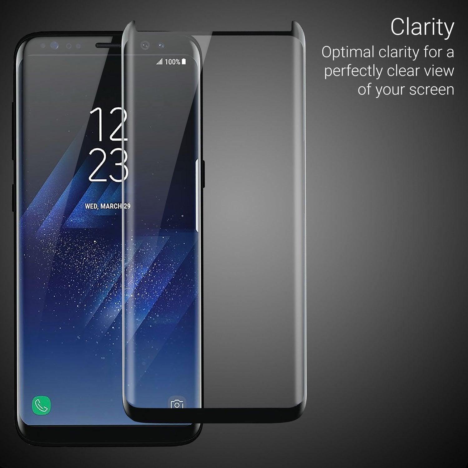 Samsung Galaxy S9 Plus Tempered Glass